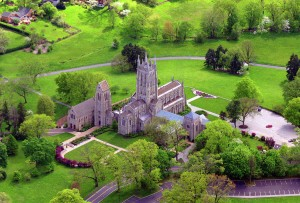 Aerial view of the Cathedral