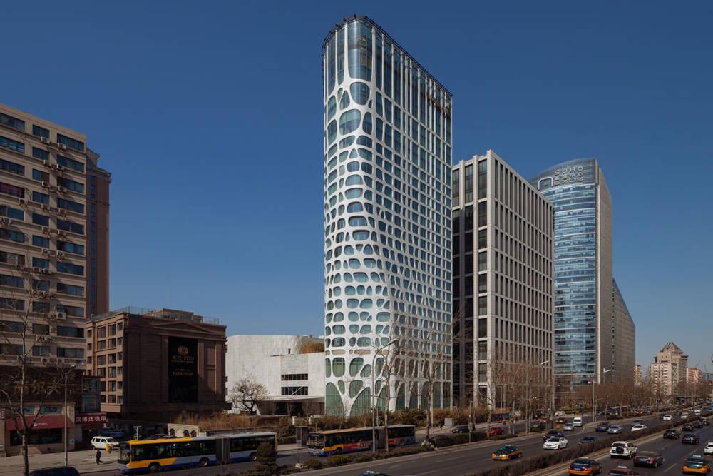 Burka architects mad studios conrad hotel for Hotel architecture