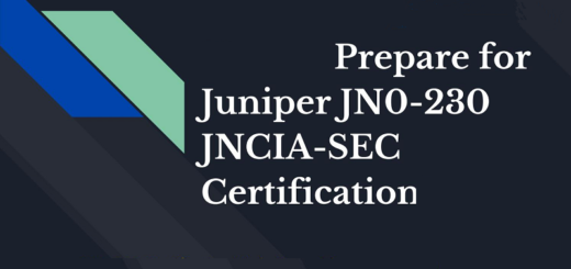 Juniper JN0-230 Braindumps